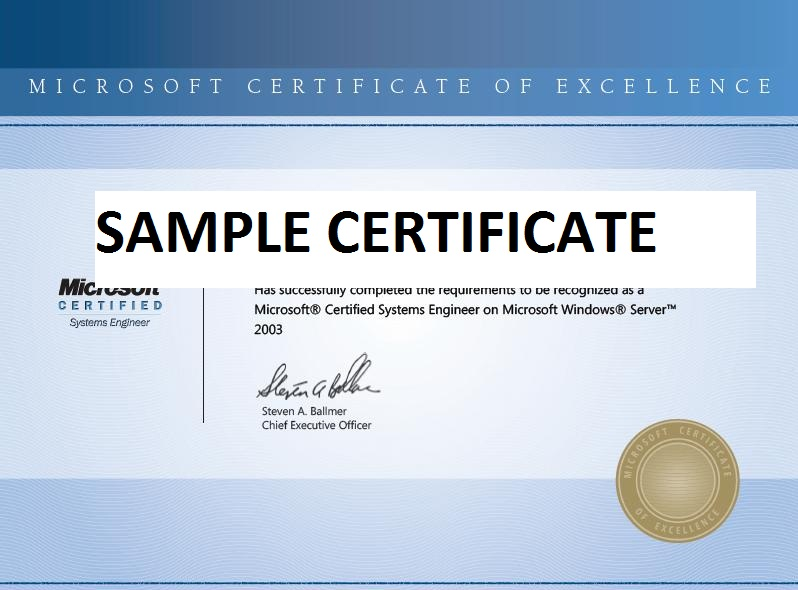 Mcse Courses Mcse Certification Training Microsoft