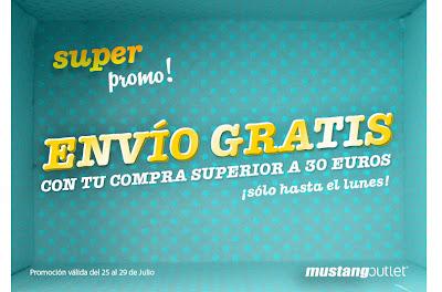 MUSTANG ONLINE GASTOS DE ENVÍO GRATIS