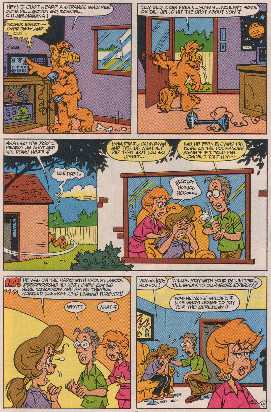 Read online ALF comic -  Issue #49 - 19