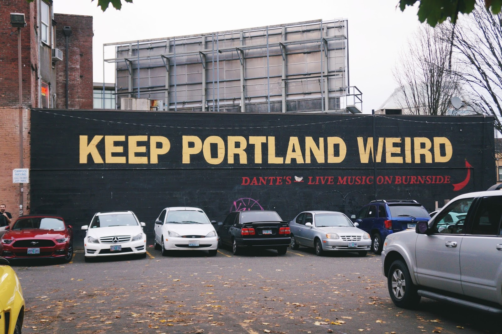 How to Spend 48 Hours in Portland, Oregon: Keep Portland Weird Sign