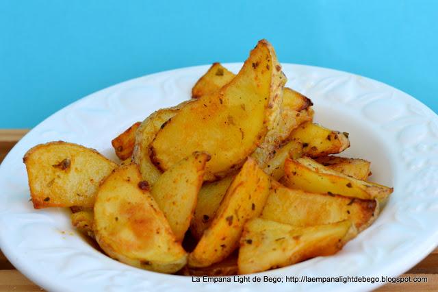 receta-de-patatas-gajo-aromatizadas-al-horno