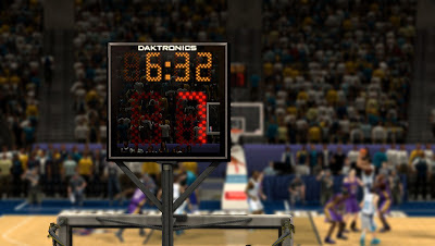 NBA 2K13 New Orleans Pelicans Shot Clock Texture