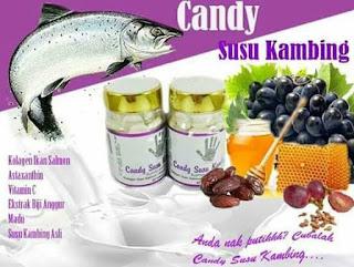 CANDY SUSU KAMBING KURMA MADU