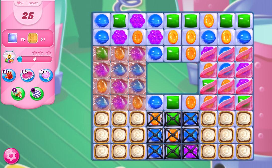 Candy Crush Saga level 6201