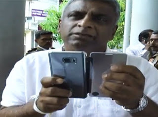 Dhammika Ranatunga threatens journalists at court