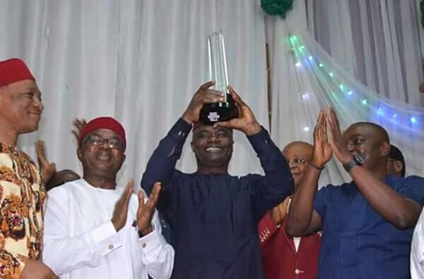 "Abia Governor, Ikpeazu Bags Verbatim Magazine ""Governor Of The Year"" Award"