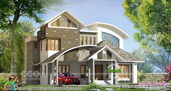 4 bedroom contemporary home with estimated cost