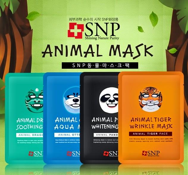 k-beauty- SNP ANİMAL MASK (hayvan figurlü maske)