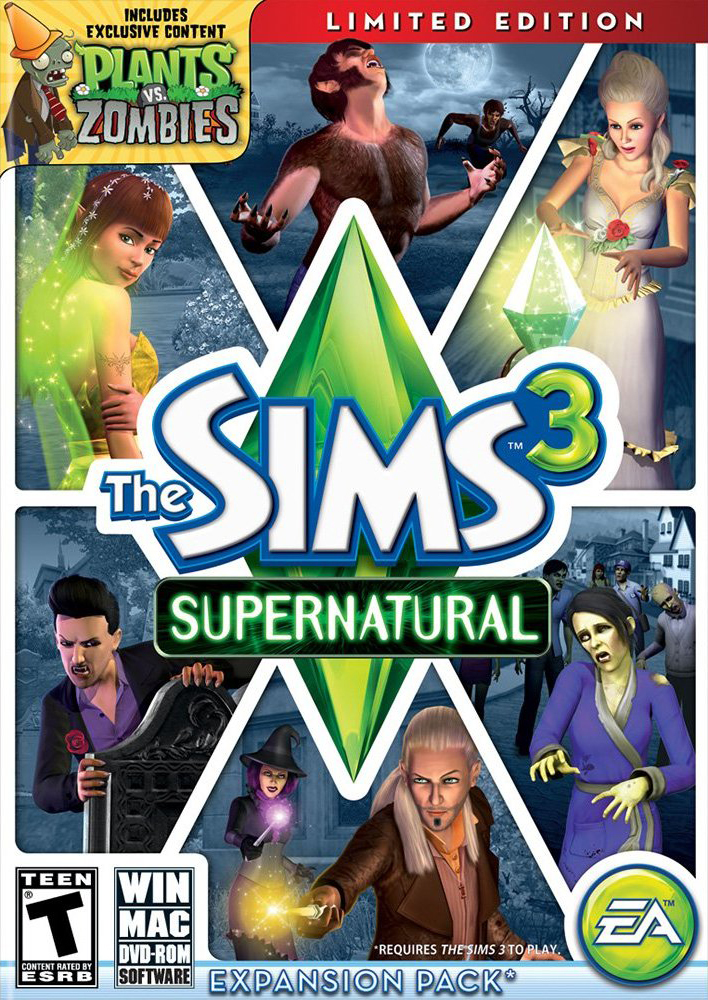 The sims 3 supernatural reloaded tpb