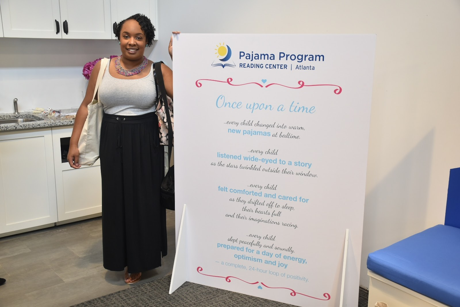 Stepping Out: Pajama Program Reading Center in Atlanta VIP Event  via www.productreviewmom.com