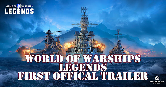 World of Warships Legends First Official Trailer