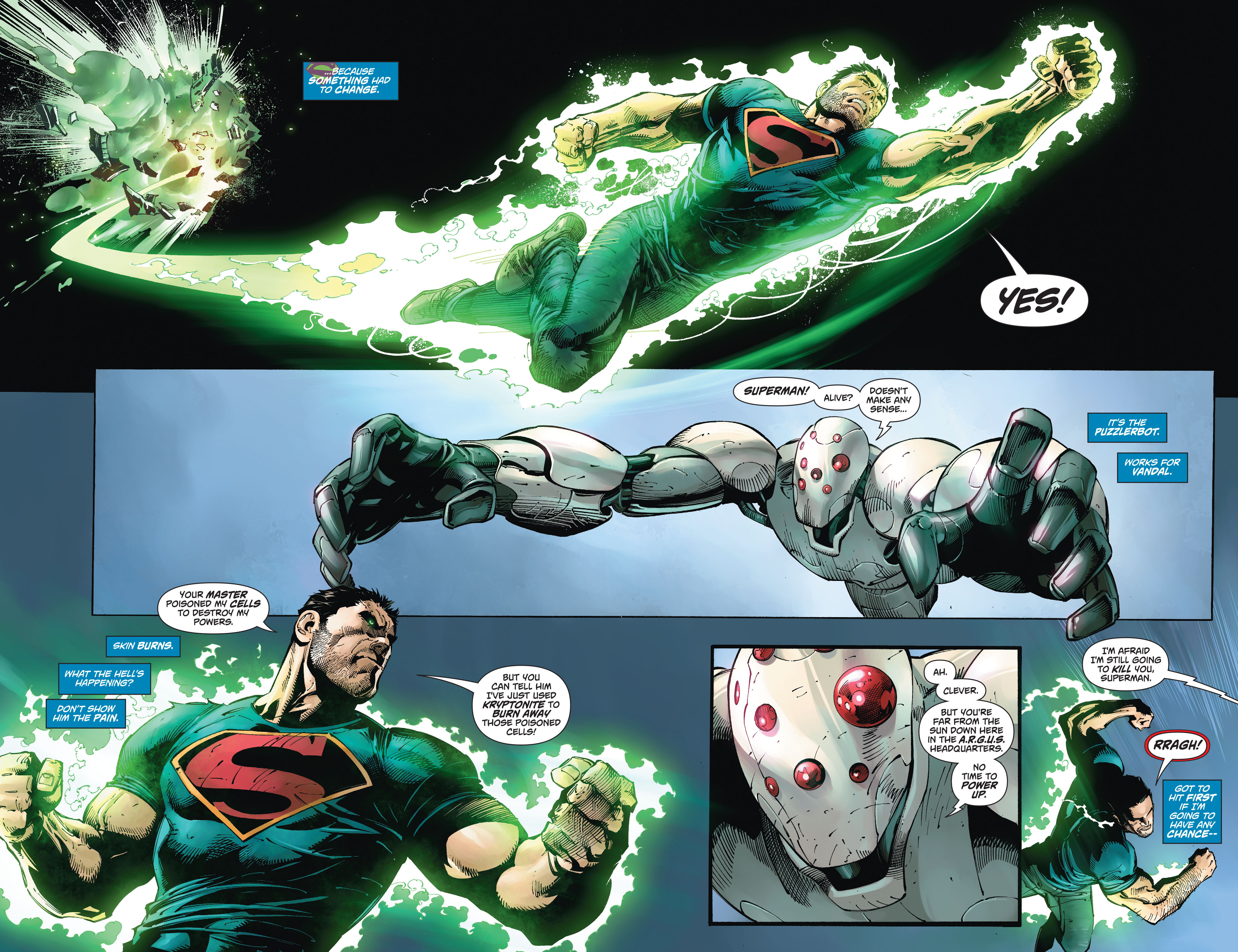 Read online Action Comics (2011) comic -  Issue #49 - 8