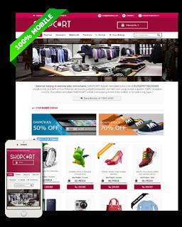 Dua Template Blogspot Untuk Toko Online Premium dan Terpopuler