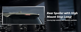 Rear Spoiler All-New-Fortuner