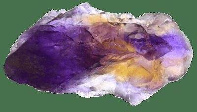 ametrino bolivianita cuarzo citrino natural   foro de minerales