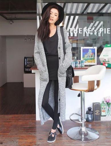 ... Gaya fashion wanita korea desain casual elegan terbaru 2017 2018 ... 6c8d501626