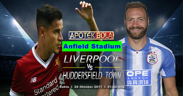Liverpool vs Huddersfield Town 28 Oktober 2017