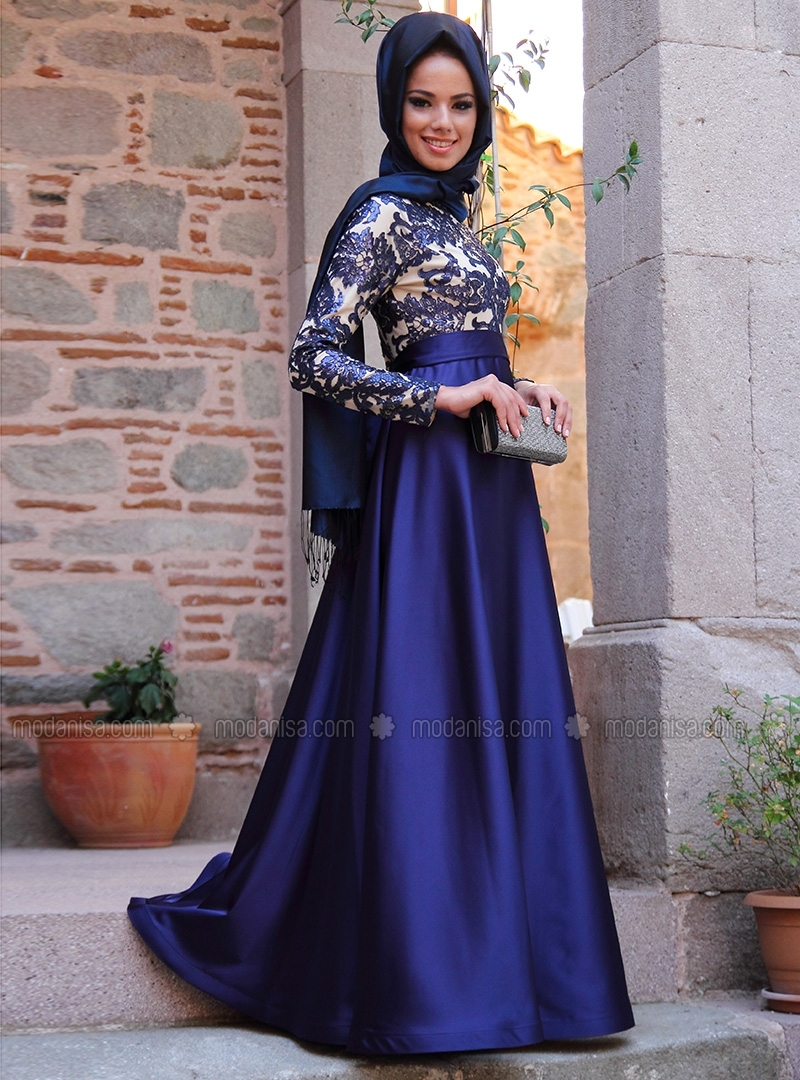 robe de soir e turque hijab. Black Bedroom Furniture Sets. Home Design Ideas