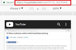 Cara download video youtube di google chrome tanpa software