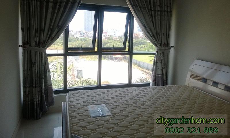phòng ngủ căn hộ CITY GARDEN cho thuê