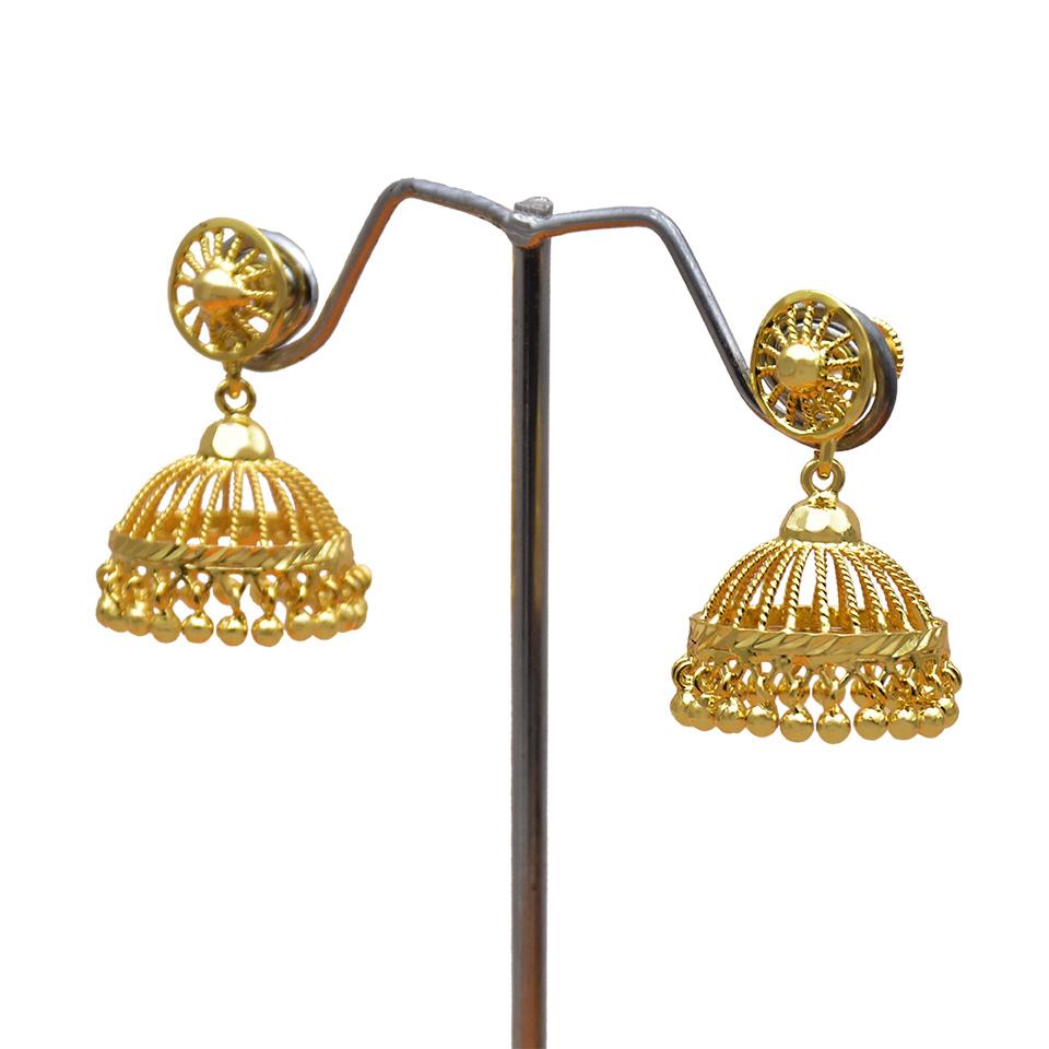 4f9cbcdfa0e41 Kollam Supreme Premium Fashion Jewellery: One Gram Gold Wheel Studs ...