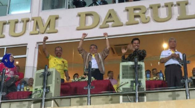 Menteri Besar Kedah Malu Kena Boo Penyokong Kedah