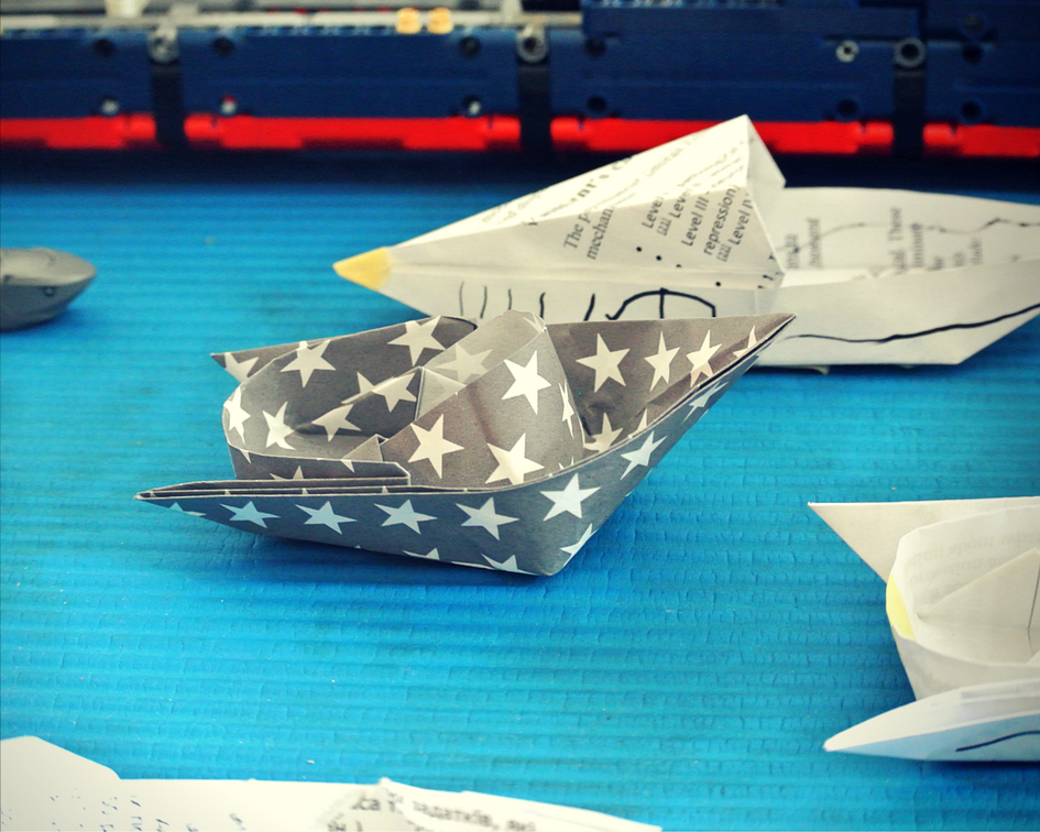Origami Speed Boat My Favorite Sleek Lines Impressive Design A Far Cry From Your Usual Paper
