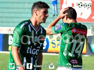 Oriente Petrolero - Gualberto Mojica - Sergio Almiron - Universitario vs Oriente Petrolero - DaleOoo.com pagina Oriente Petrolero