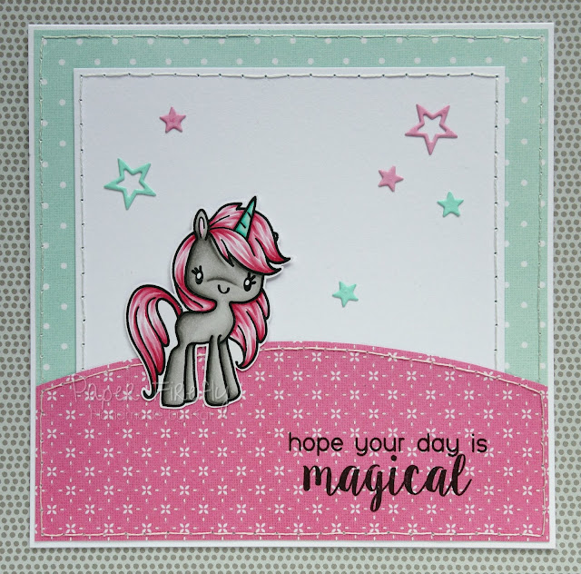 Magical unicorn card (image from The Greeting Farm)