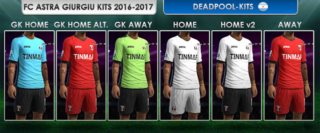 PES 2013 Astra Giurgiu Kit Season 2016-2017
