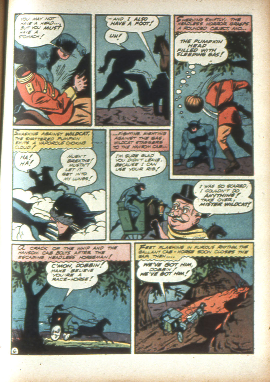 Read online Sensation (Mystery) Comics comic -  Issue #16 - 61