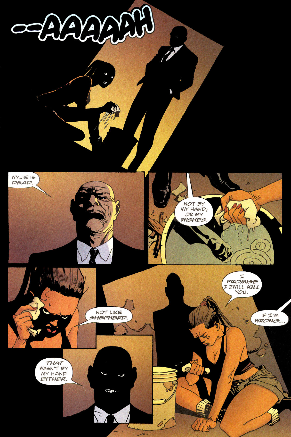 Read online 100 Bullets comic -  Issue #80 - 17