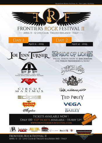 FM at Frontiers Rock Festival 2015