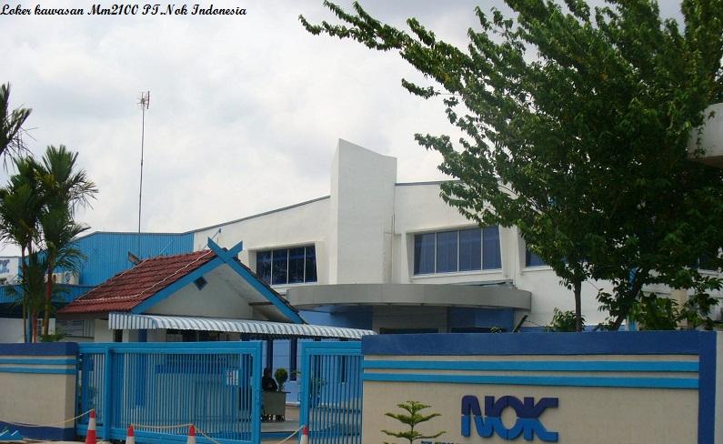 Loker kawasan MM2100 Cibitung PT. NOK Indonesia ( Nippon Oilseal Kogyou) Lulusan SMA/SMK