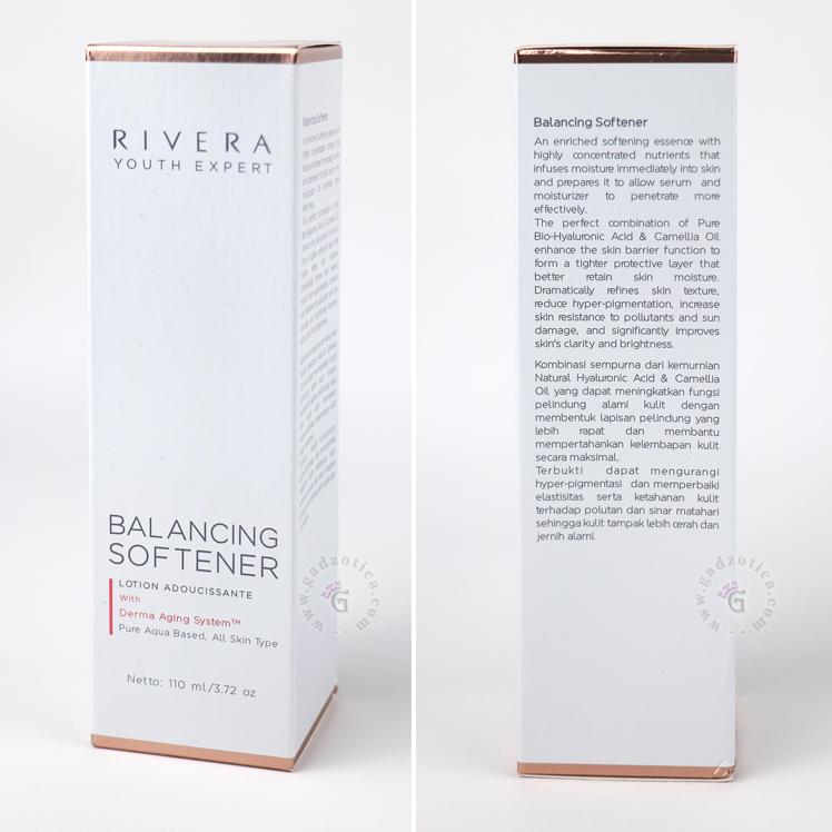 Kandungan Rivera Youth Expert Balancing Softener