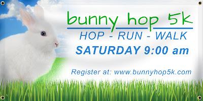 Bunny Hop 5K Banner | Banners.com