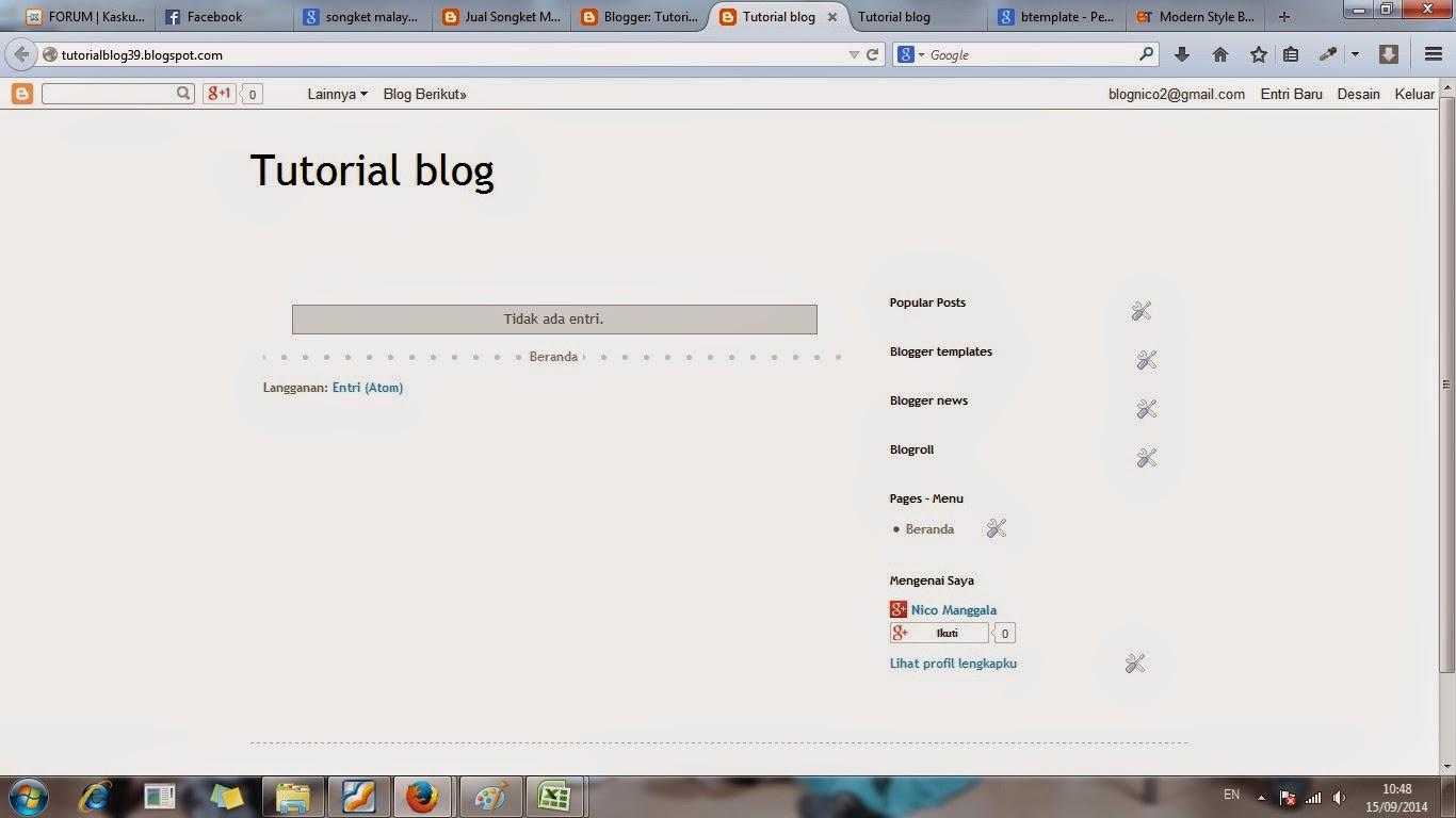 cara, blog, gratis, membuat