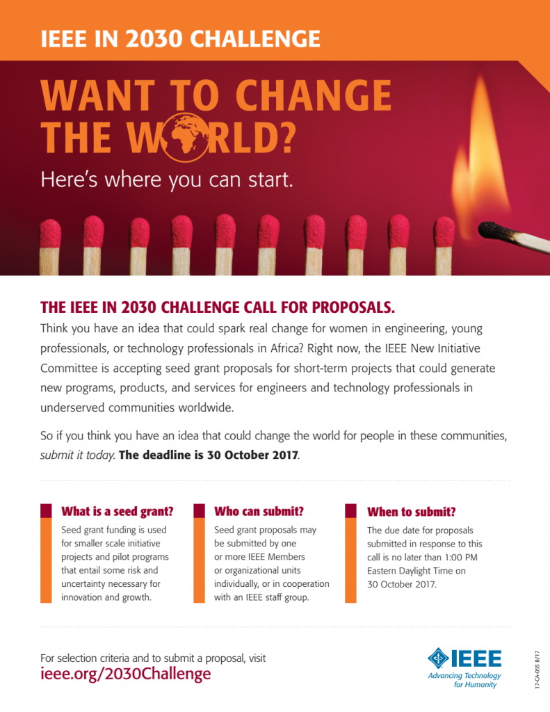 El Desafío IEEE en 2030: aportando valor a los ingenieros y ...