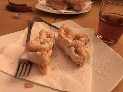 Bacio pantesco - a desert with ricotta.