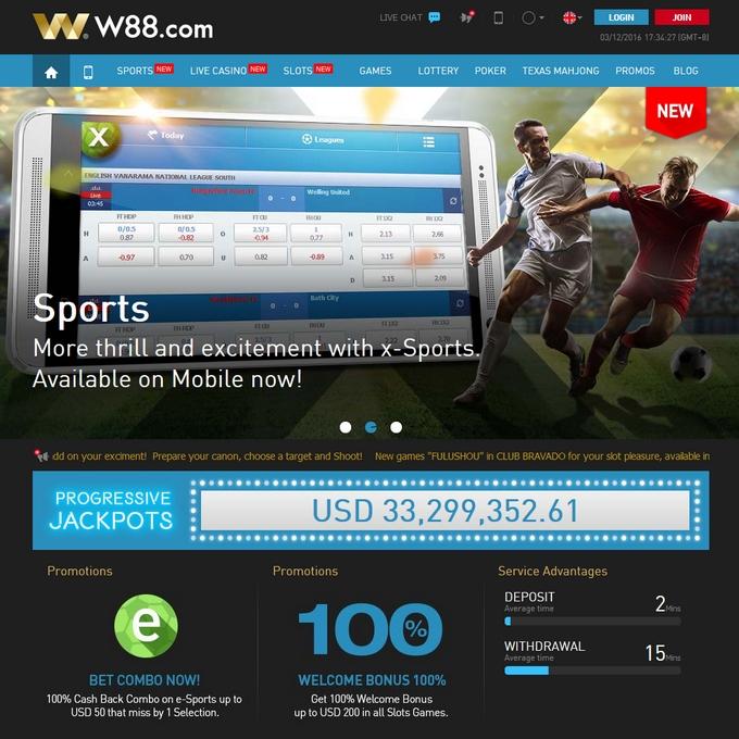W88 Screen