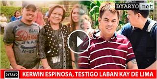 LOOK: Kerwin Espinosa, Handang Tumestigo Sa Kanilang Koneksyon Ni De Lima