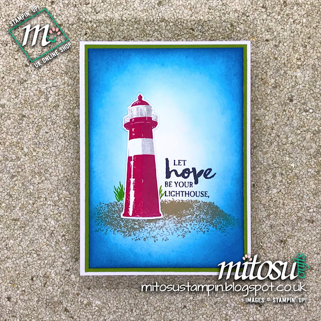 Stampin' Up! High Tide card idea, order cardmaking products from Mitosu Crafts UK Online Shop