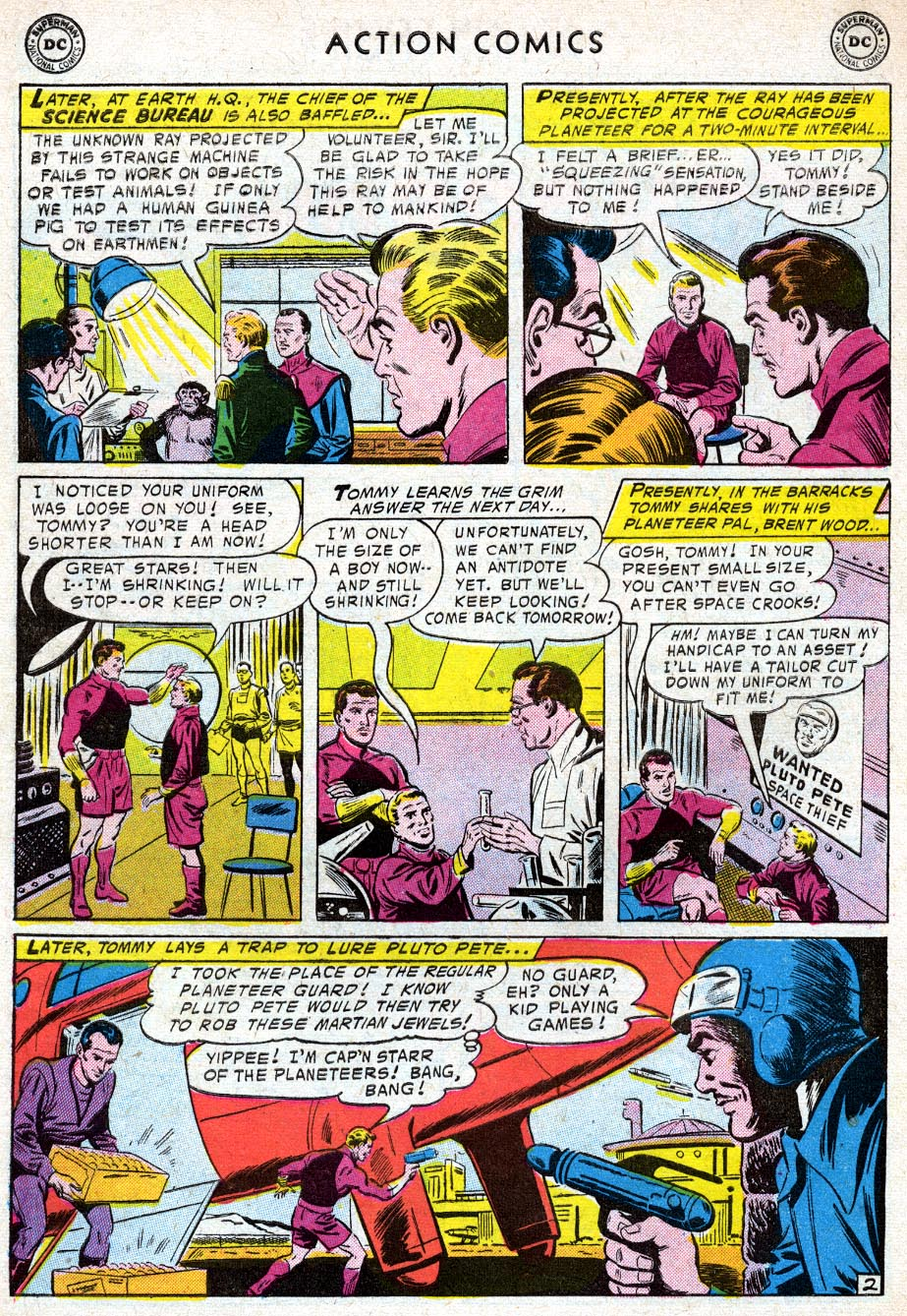Read online Action Comics (1938) comic -  Issue #219 - 28
