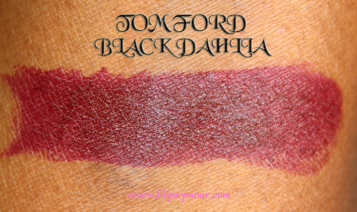 Tom Ford Black Dahlia Lipstick Holiday 2014