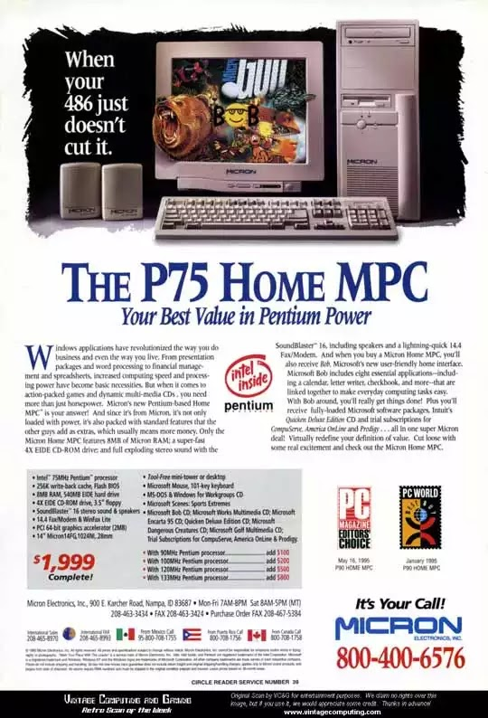 Old days' Computer Advertisements 37