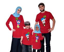 Model Kaos Couple Keluarga Besar Terbaru
