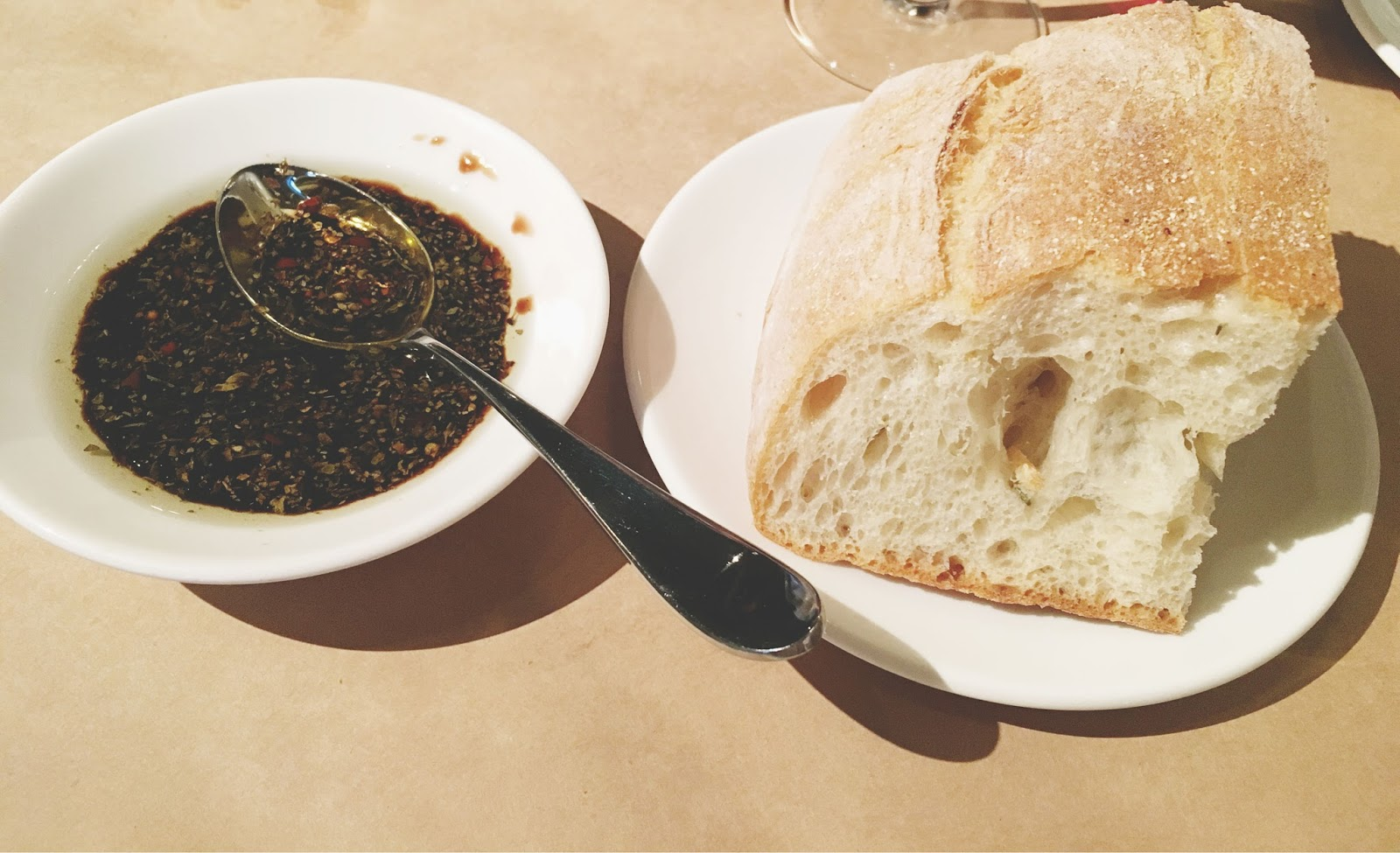 bread at Celadon - a restaurant in Napa, California