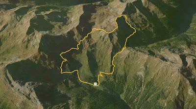 GPS Cima Trenta nelle Maddalene