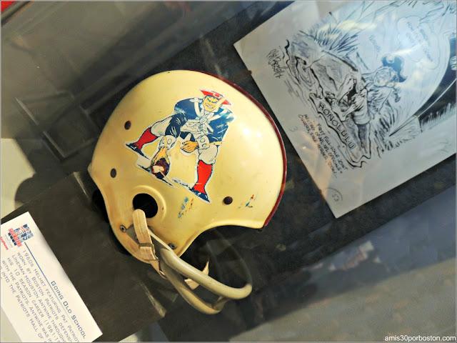 Pat Patriot como Logo de los Patriots