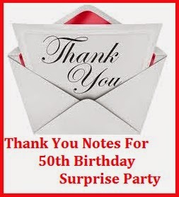 Thank You Messages! : Thank You Messages For Surprise Birthday Party
